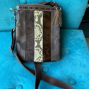 Coach multi media cross body